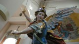 statua di san michele arcangelo, chiesa matrice cinquefrondi