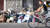 rifiuti ciclista