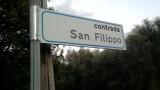 contrada san filippo cinquefrondi cartello