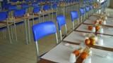 mensa scolastica vuota