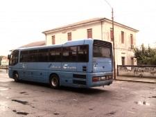 un autobus delle ferrovie della calabria