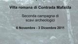 seconda campagna scavi