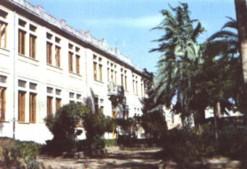 la scuola francesco della scala in una cartolina degli anni '70
