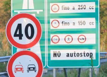 autostrada cartello