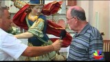 Intervista al restauratore della statua di San Michele Arcangelo Video