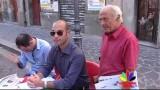 Le videonotize dell'Edicola. Prc e Pd raccolgono firme in Piazza della Repubblica Video