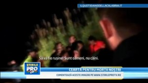 il servizio della tv rumena