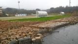 muro campo calcio cinquefrondi