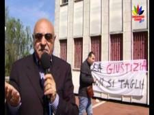 Cinquefrondi, la manifestazione in difesa della sede staccata del Tribunale Video