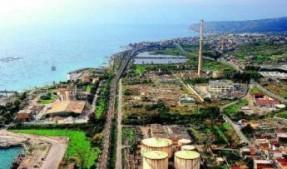 area industriale saline joniche