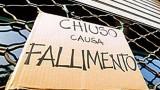 cartello fallimento chiuso