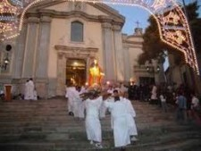 un momento della processione 2012