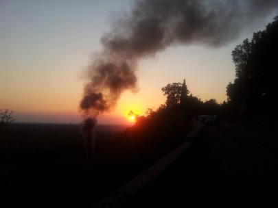 incendio anoia 2 agosto 1