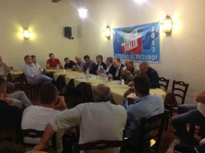 Forza italia anche a bagnara torna la casa dei moderati for Onorevoli di forza italia