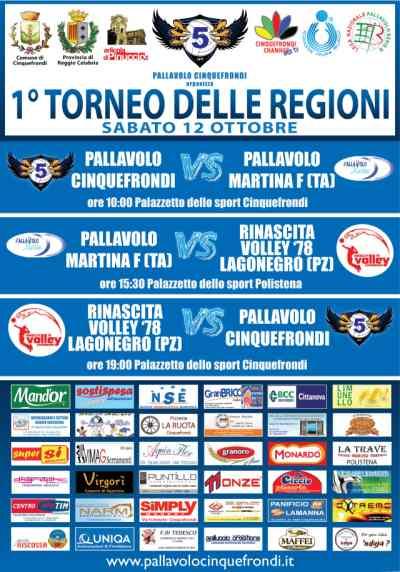 primo torneo delle regioni pallavolo