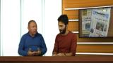 michele albanese e saso tigani nello studio dell'edp