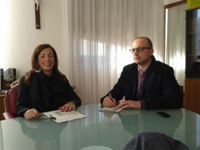 Giuseppe Longo e dott.sa Carolina Picciocchi