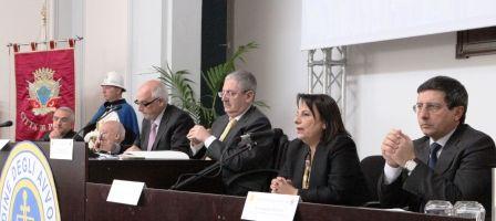 inaugurazione sede consiglio ordine avvocati palmida sin. Barone, Salazar, Perfetti, Napoli, Arena, Creazzo