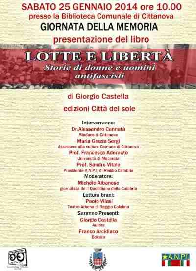 locandina presentazione libro giorgio castella