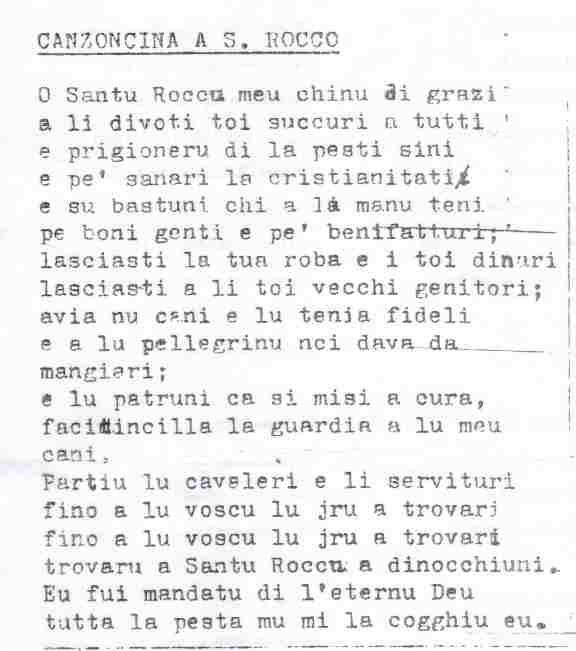 san rocco canzoncina 236