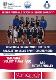Locandina Volley Piana