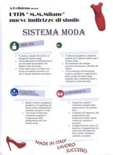 locandina corso sistema moda itis polistena