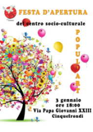 locandina festa popul'art