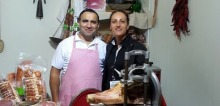 Antonello e Laura (foto slow Food)