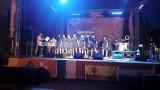 gli azzurrini sul palco di cinquefrondi