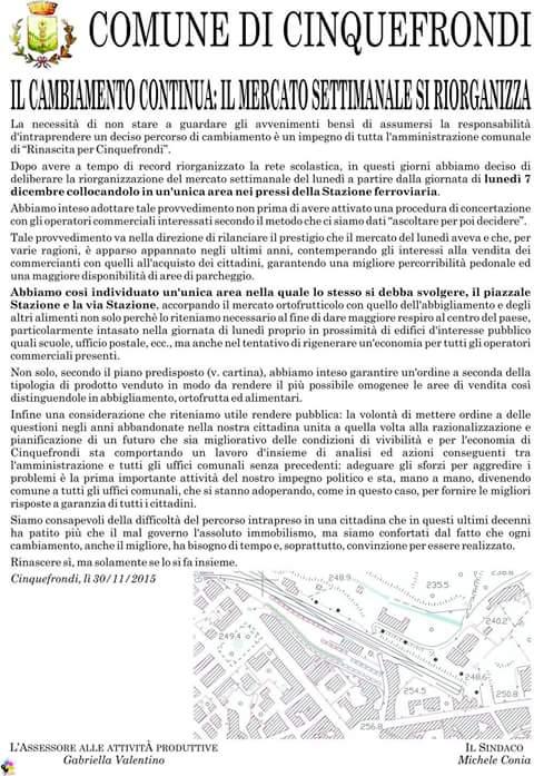 Manifesto Mercato