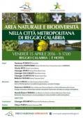 Area naturale e biodiversità_Locandina_Reggio2
