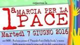 Manifesto Marcia della pace-