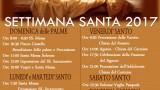 programma della Settimana Santa 2017