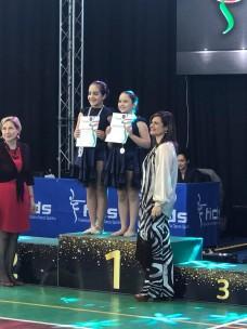 podio campionati di danza