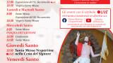 programma settimana santa 2021